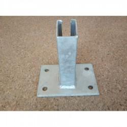 Pätka stĺpika Nylofor ( 60x40 mm)