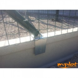 Držiak vzpery na betónovú dosku ( na 5 cm dosky )