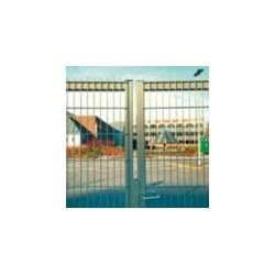 Dvojkrídlová brána s výpĺňou Nylofor 3D light