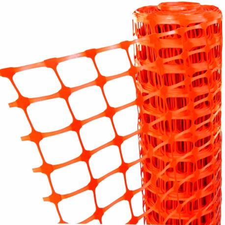 Bariérové PVC oplotenie 1x30m - oranžové
