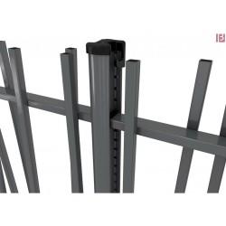 Stĺpik Bekafix na pätky RAL 7016
